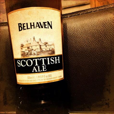 Об интересном сорте. Шотландский эль. Belhaven Scottish Ale. Обзор пива.