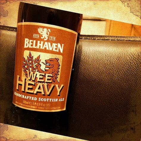 Ви Хеви. Wee Heavy. Belhaven Wee Heavy. Обзор пива.