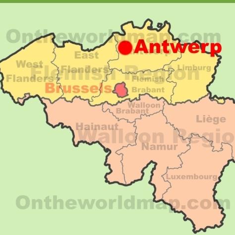 Антверпен [Antwerp].
