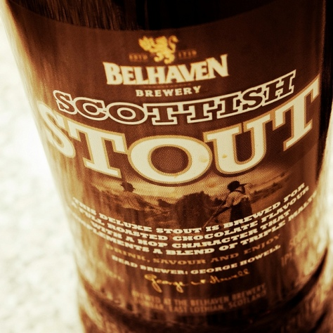 Обзор пива. Belhaven Scottish Stout.