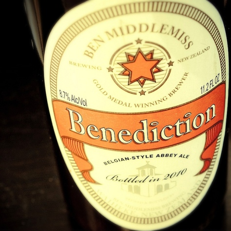 Обзор пива. Ben Middlemiss Benediction Ale.
