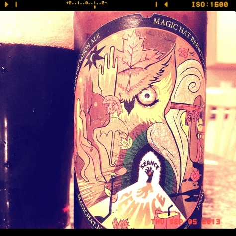 Обзор пива. Magic Hat Seance.
