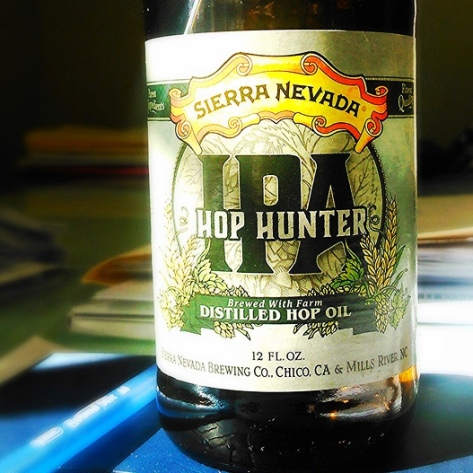 Пивоварня Sierra Nevada. Sierra Nevada Hop Hunter. Обзор пива.