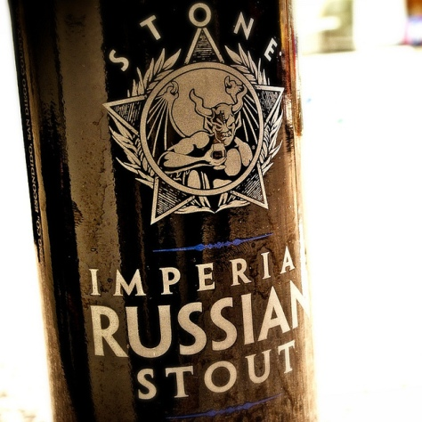 Обзор пива. Stone Imperial Russian Stout.
