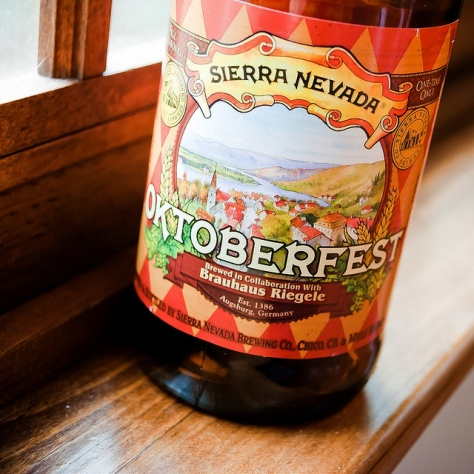 Обзор пива. Sierra Nevada Octoberfest.