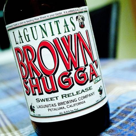 Обзор пива. Lagunitas Brown Shugga'.
