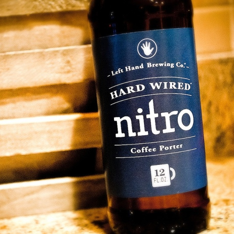 Обзор пива. Left Hand Hard Wired Nitro Coffee Porter.