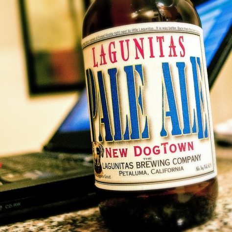 Обзор пива. Lagunitas New Dogtown Pale Ale.