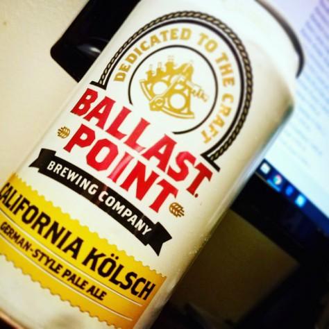 Обзор пива. Ballast Point California Kölsch.