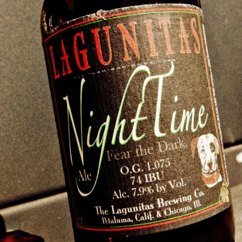 Обзор пива. Lagunitas Night Time.