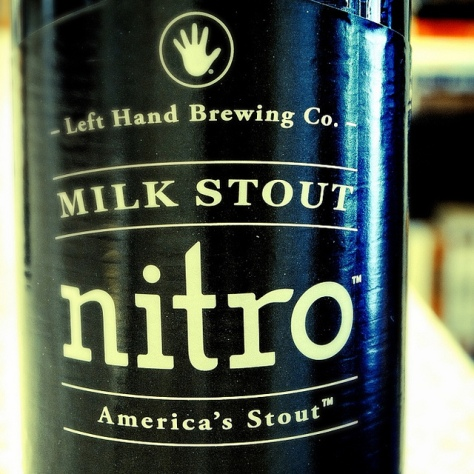 Обзор пива. Left Hand Milk Stout Nitro.