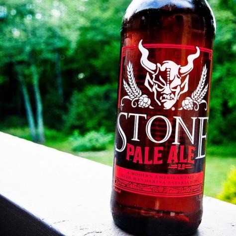 Американский пэйл эль. APA. Stone Pale Ale 2.0. Подробный обзор.