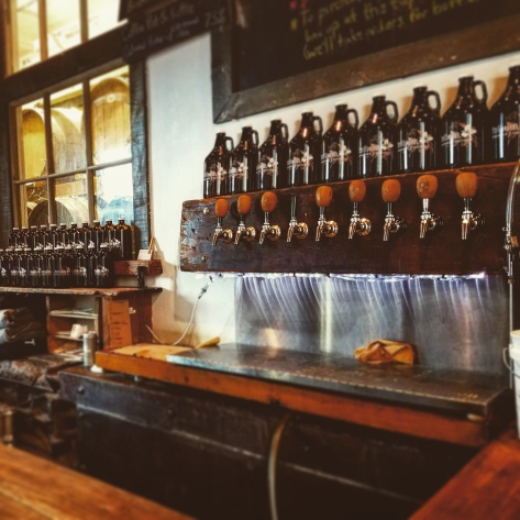 Крафтовая пивоварня. Trillium Brewery. Boston.