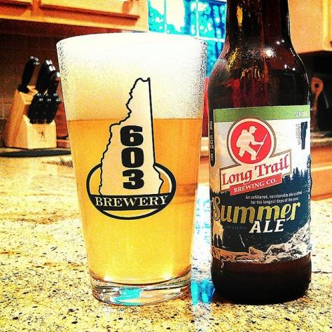 Обзор пива. Long Trail Summer Ale.