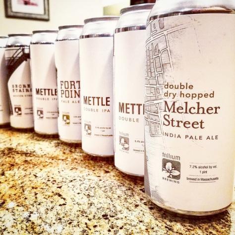 Обзор пива. Trillium Melcher Street IPA.