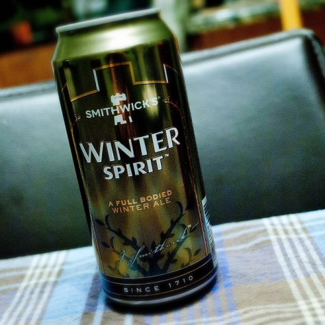 Обзор пива. Guinness Smithwick's Winter Spirit.