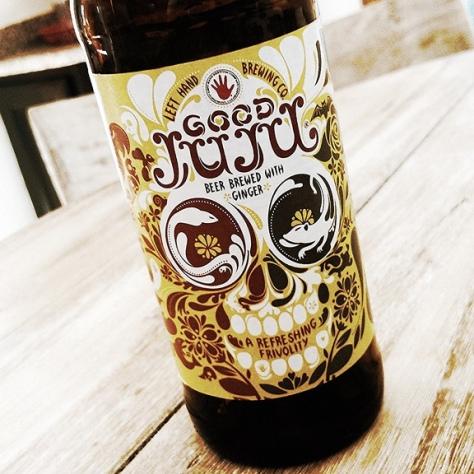 Травяное пиво. Грюйт. Left Hand Good Juju. Обзор пива.