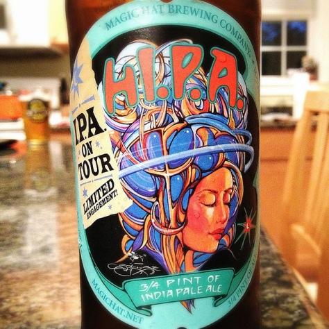 Обзор пива. Magic Hat H.I.P.A.