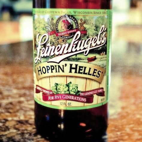 Обзор пива. Jacob Leinenkugel's Hoppin' Helles.