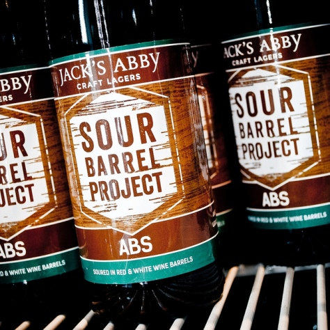 Обзор пива. Jack's Abby Sour Barrel Project.