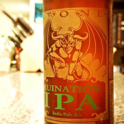 Обзор пива. Stone Ruination IPA.