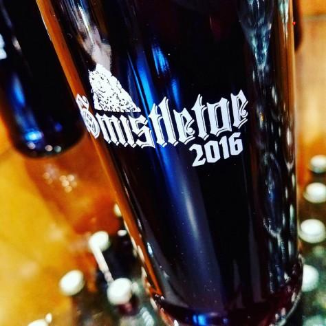 Обзор пива. Smuttynose Smistletoe 2016.
