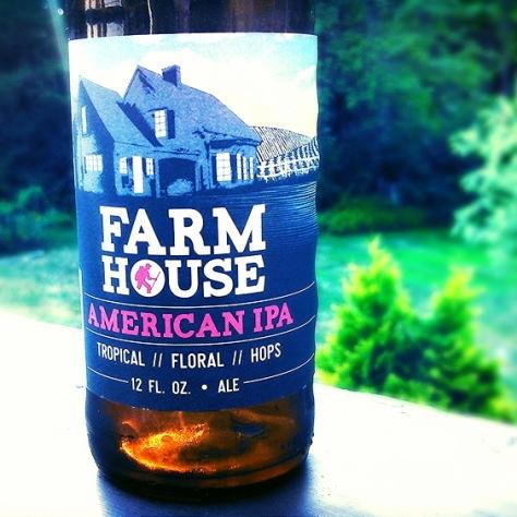 Обзор пива. Long Trail Farmhouse American IPA.