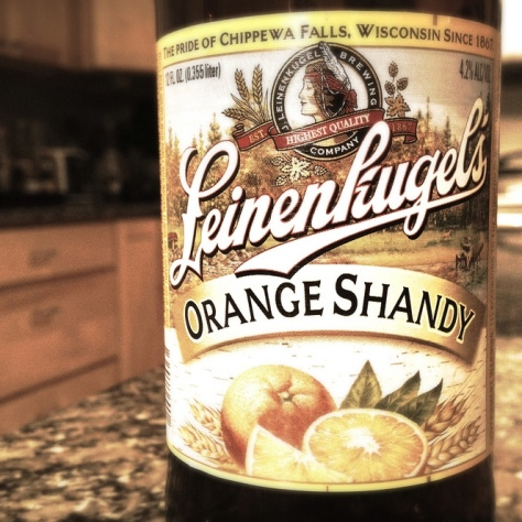 Обзор пива. Jacob Leinenkugel's Orange Shandy.