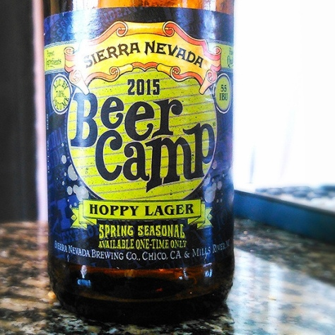 Пивоварня Sierra Nevada. Sierra Nevada Beer Camp Hoppy Lager 2015. Обзор пива.