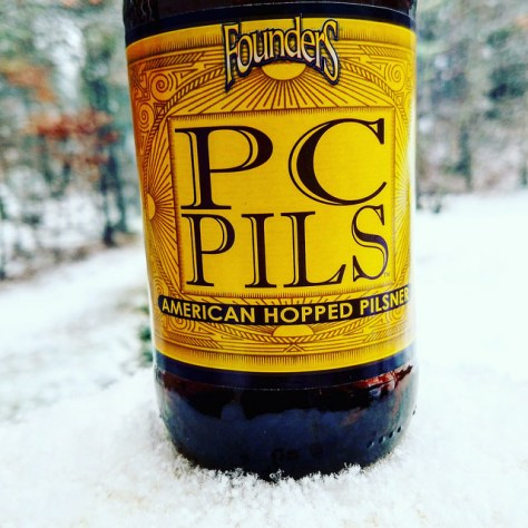 Обзор пива. Founders PC Pils.