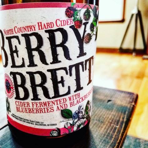 Обзор крепкого сидра. North Country Berry Brett.