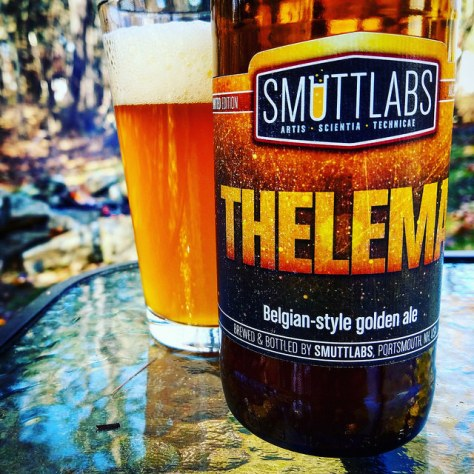 Обзор пива. Smuttynose Smuttlabs Thelema.