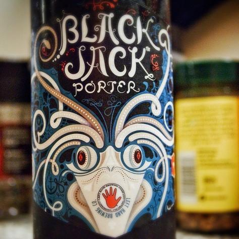 Обзор пива. Left Hand Black Jack Porter.