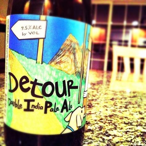 Обзор пива. Uinta Detour.