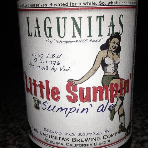 Обзор пива. Lagunitas Little Sumpin'.