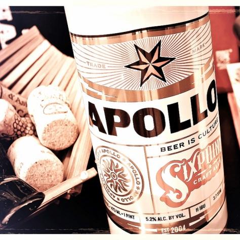 Обзор пива. Sixpoint Apollo.