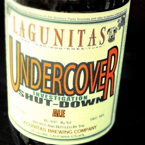 Обзор пива. Lagunitas Undercover Investigation Shut-Down Ale.