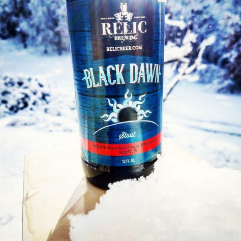 Обзор пива. Relic Black Dawn.