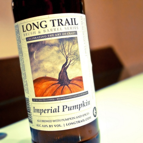 Обзор пива. Long Trail Imperial Pumpkin Ale (Brush & Barrel Series).