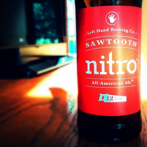 Обзор пива. Left Hand Sawtooth Nitro.