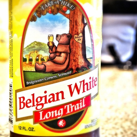 LONG TRAIL BELGIAN WHITE. [ОБЗОР ПИВА].