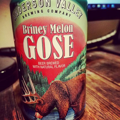 Обзор пива. Anderson Valley Briney Melon Gose.
