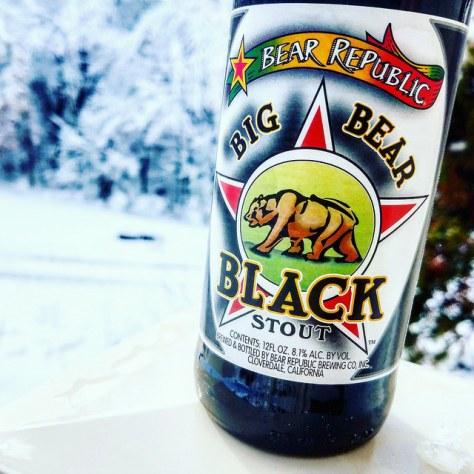 Обзор пива. Bear Republic Big Bear Black Stout.