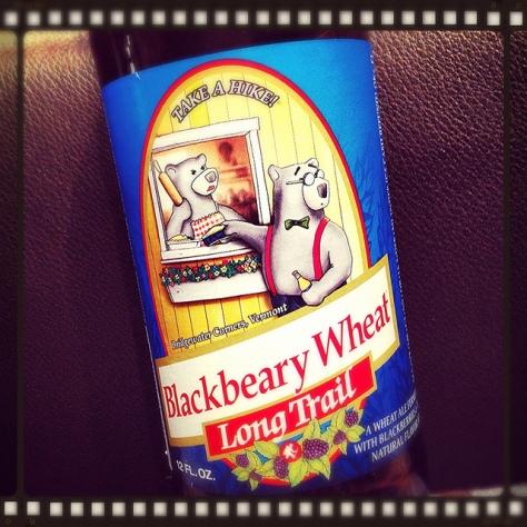 Long Trail Blackbeary Wheat. [Обзор пива].