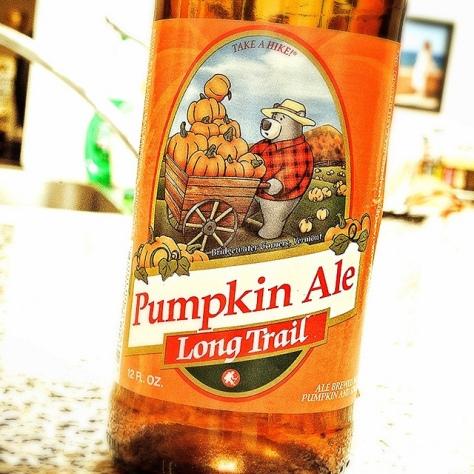 Обзор пива. Long Trail Pumpkin Ale.