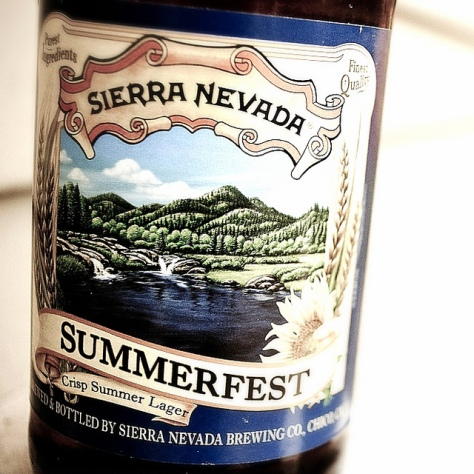 Обзор пива. Sierra Nevada Summerfest.