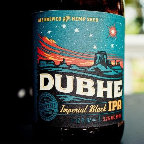 Чёрный IPA. Uinta Dubhe Imperial Black IPA. Обзор пива.
