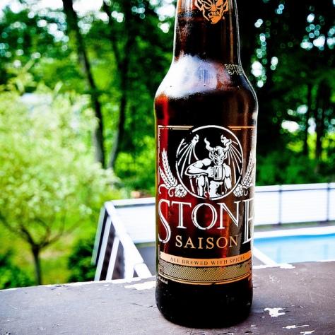 Обзор пива. Stone Saison.