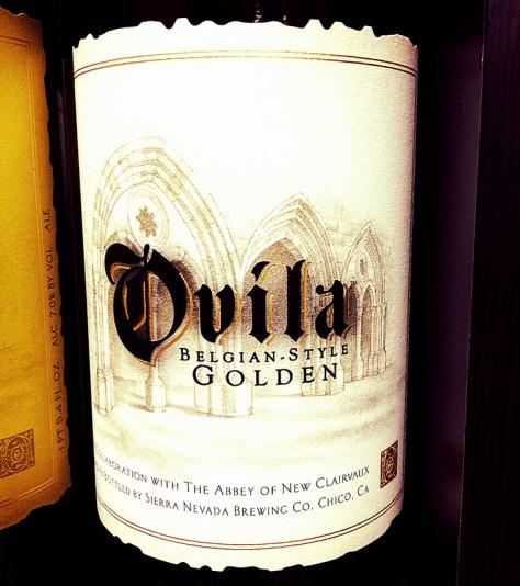 Обзор пива. Sierra Nevada Ovila Belgian Style Golden.