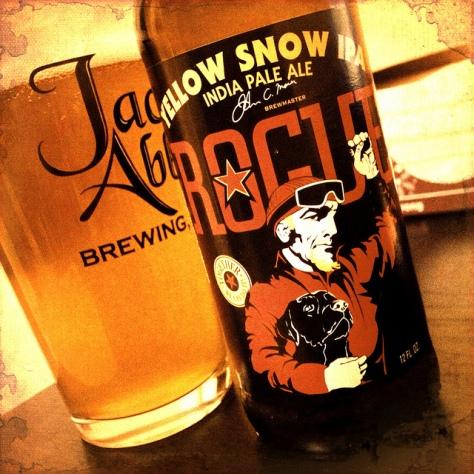 Обзор пива. Rogue Yellow Snow IPA.